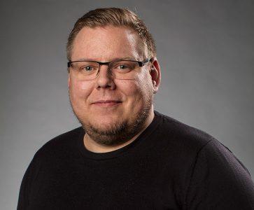 Joakim Nilsson, projektledare Luleå