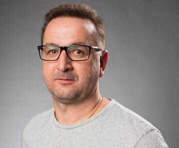 Nicklas Persson, platschef golv Karlskrona